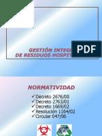 PRESENTACIÓN RESIDUOS HOSPITALARIOS