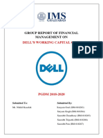 Report of FM Dell Working Capital Case G1