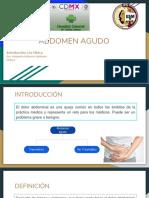 Abdomen y Apendicitis