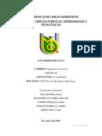 CONTABILIDAD.    Tema. Medios de Pago.docx