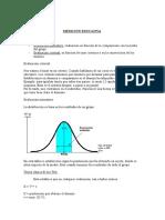 Apuntes Medición Educativa