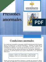 Presentación presiones anormales