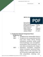 k13-Rpp Kimia Smk Tkj Kelas x Kd 3.1