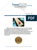 TechCorner 12 - Temperature Measurement Basics