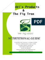 Nutritional Guide[1] | Drink | Nutrition