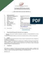 Spa Psicometria i 2018 II Filial Chiclayo