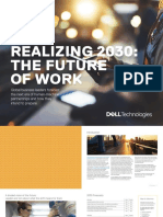 Realizing 2030 the Future of Work
