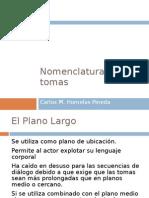 nomenclatura de planos