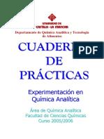 Experimentacion en Quimica Analitica 2006-2007