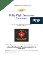 Utility Flight Operations