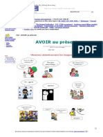 FLE _ AVOIR Au Présent-French
