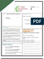 Hap Achieve Sheet Week 5[1]