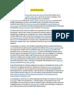 Def de antropología + Canales de aprendizaje ( Metodología)