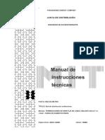 manual de instalación de terminales muflas