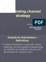 Formulating Channel Strategy