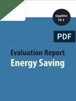 Energy Saving Evaluation - OppFilm TR 2