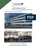 Days 1-2 Additional Info PA Phytopharma