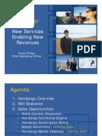New Services Enabling New Revenues - Doug Ortega - Handango