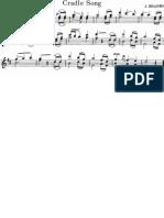 Cradle Song Violin