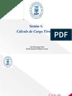Sesión 1 Cálculo de Carga Térmica