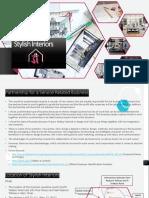 stylish interiors business plan project