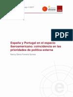 FerreiraGomes Espana Portugal Espacio Iberoamerican Coincidencia Prioridades