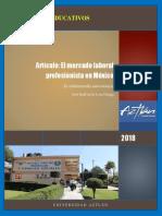 El Mercado Laboral Profesionista en México