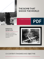 Interactive Lecture- Atomic Bomb