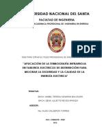Aplicacion de la Termografia Infrarroja en Tableros electricos de Distrucion para Mejorar la seguridad y la calidad de la energia electrica - UNIVERSIDAD DEL SANTA.pdf