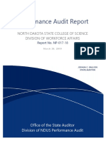 2019 ND State College of Science Division of Workforce Affairs
