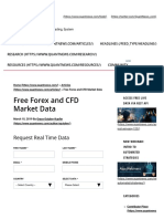 Free Forex and CFD Market Data _ Quant News