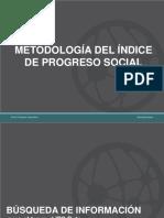 Metodología INDICE PROGRESO SOCIAL V01