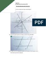 Ejercicios de Repaso Geometria