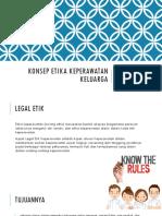 Prinsip – Prinsip Legal Etik Pada Keperawatan Keluarga