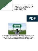 Exportacion Directa