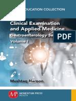 Clinical Examination and Applied Medicine, Volume I-Gastroenterology Series (Mar 7, 2018)_(1946646938)_(CRC Press)