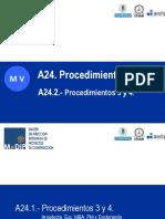 a24.2.- Procedimientos 3 y 4