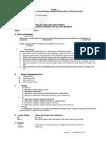 Contoh Rencana Pelaksanaan Pembelajaran Praktek