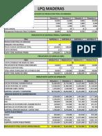Evidencia 6_Presupuesto Para La Empresa LPQ Maderas