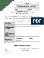 Consentimiento Informado en Inv Ninos y Adolecentes