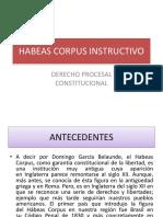 Habeas Corpus Instructivo