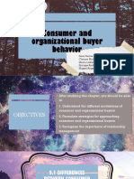 Chapter 3 - Consumer and Organizational Buyer Behavior