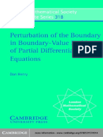 (London Mathematical Society lecture note series 318) Dan Henry, Jack Hale, Antônio Luiz Pereira-Perturbation of the boundary in boundary-value problems of partial differential equations-Cambridge Uni.pdf