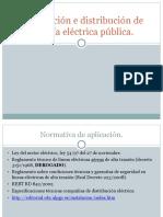 distribución electricidad pública