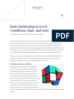 Basic Backtesting in Excel_ Conditions, Logic, And Stats - Adam H Grimes