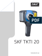 Manual cámara SKF Tkti 20