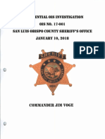 Sheriff's Gallardo Gallardo Investigation Summary