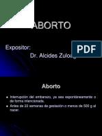 Exposicion Internos 3-ABORTO
