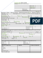 Rental Application Form - new lease