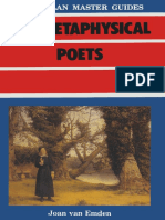 [Macmillan Master Guides] Joan van Emden (auth.) - The Metaphysical Poets (1986, Macmillan Education UK).pdf
